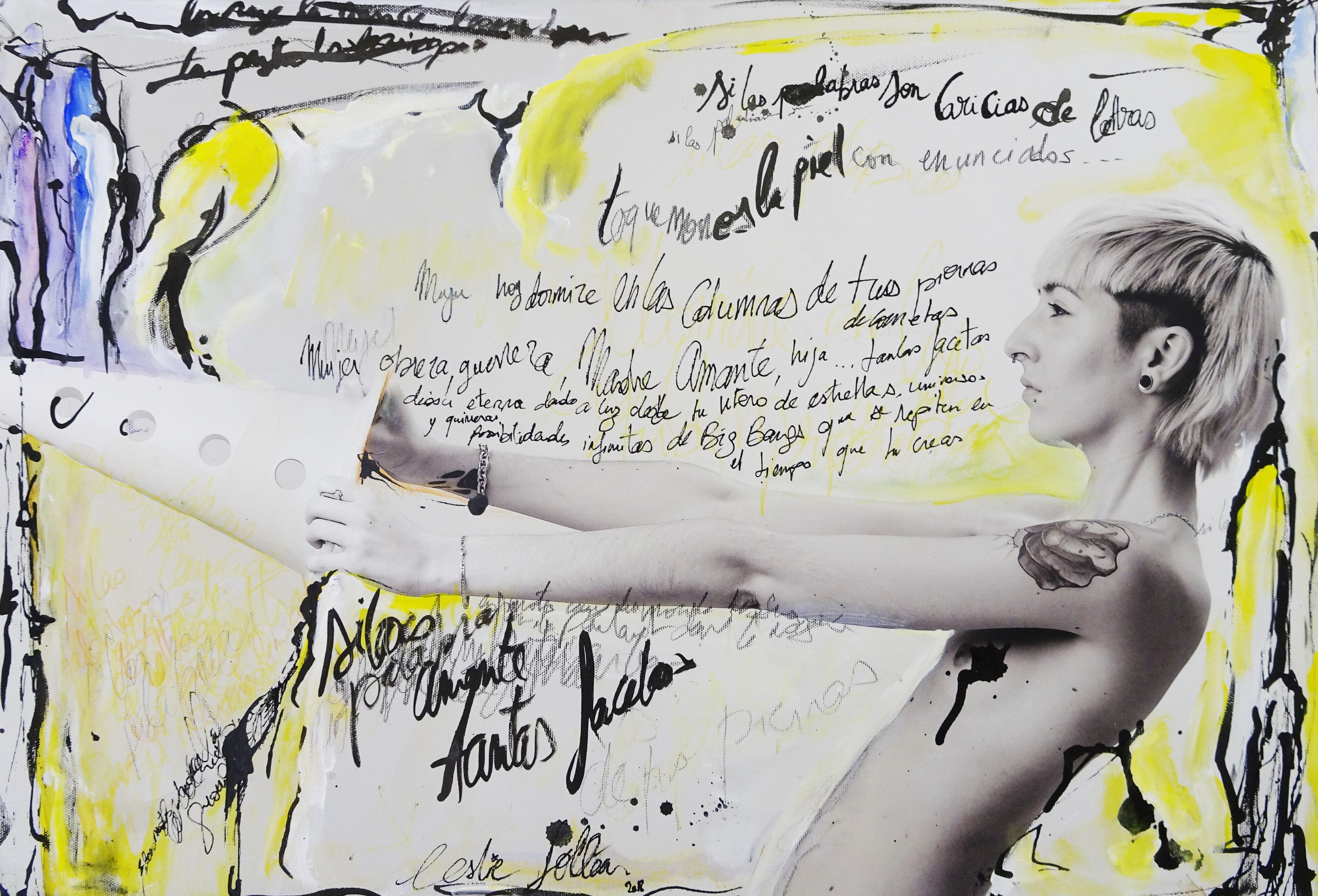 Leslie Follea sur une photo de Etienne Ruggeri