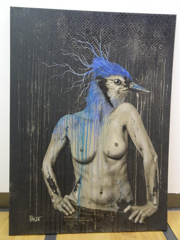 Parvati sur une photo de Emmanuelle Trompille